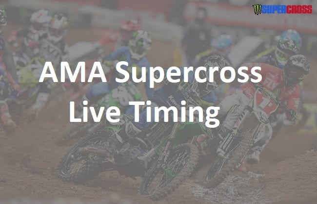 AMA Supercross Live Timing