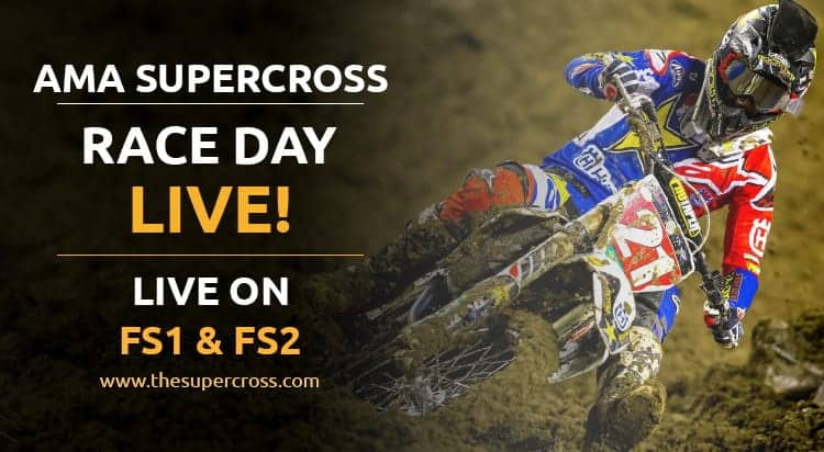 What Channel is Supercross on TV