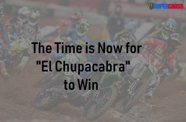 El Chupacabra at Supercross